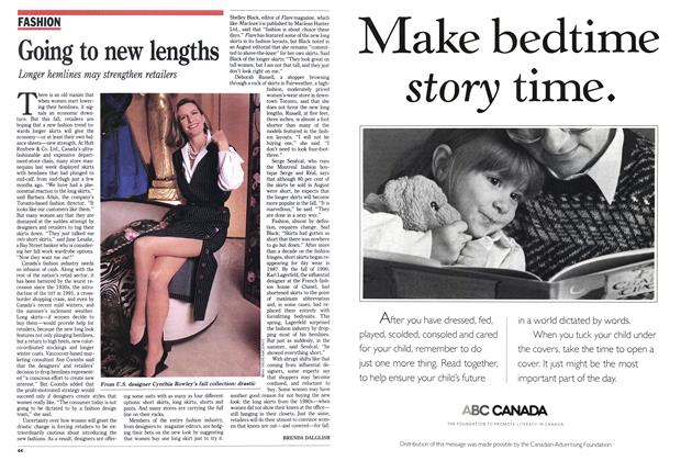 Article Preview: Going to new lengths, September 1992 | Maclean's