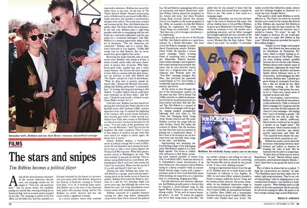 Article Preview: The stars and snipes, September 1992 | Maclean's