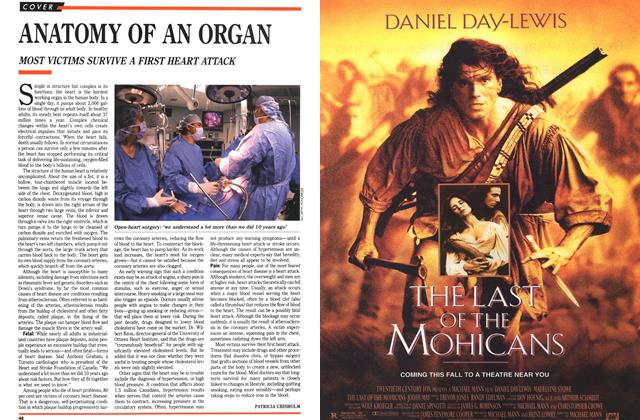 Article Preview: ANATOMY OF AN ORGAN, September 1992 | Maclean's