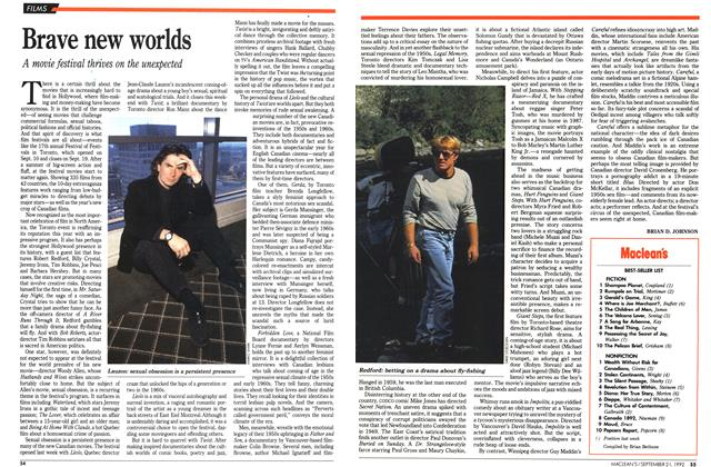 Article Preview: Brave new worlds, September 1992 | Maclean's