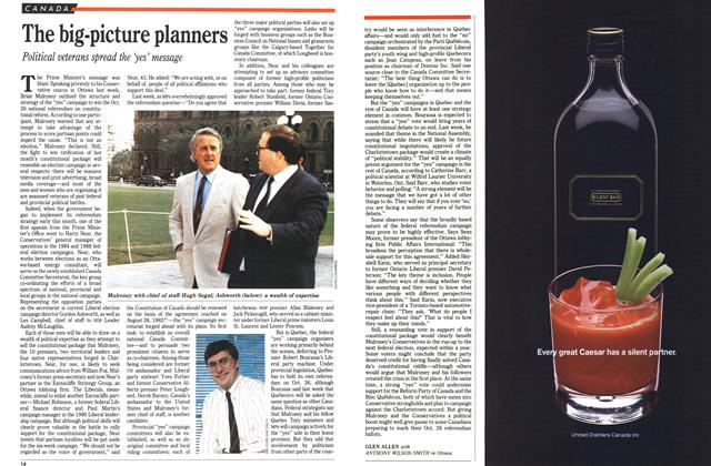 Article Preview: The big-picture planners, September 1992 | Maclean's