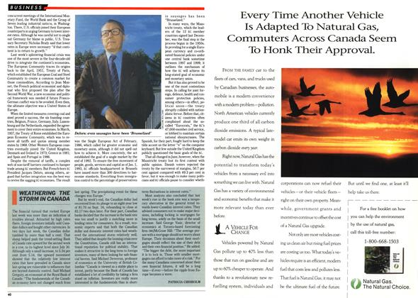 Article Preview: WEATHERING THE STORM IN CANADA, September 1992   Maclean's