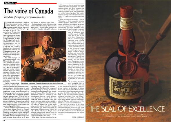 Article Preview: The voice of Canada, September 1992 | Maclean's