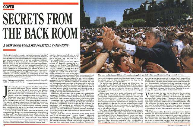 Article Preview: SECRETS FROM THE RACK ROOM, October 1992 | Maclean's