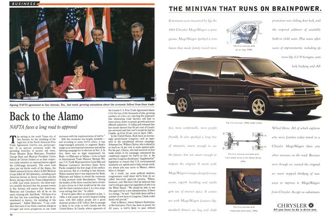 Article Preview: Back to the Alamo, October 1992 | Maclean's