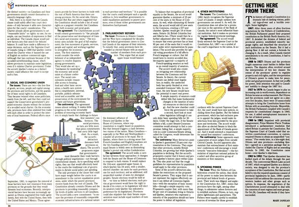 Article Preview: GETTING HERE FROM THERE, October 1992 | Maclean's