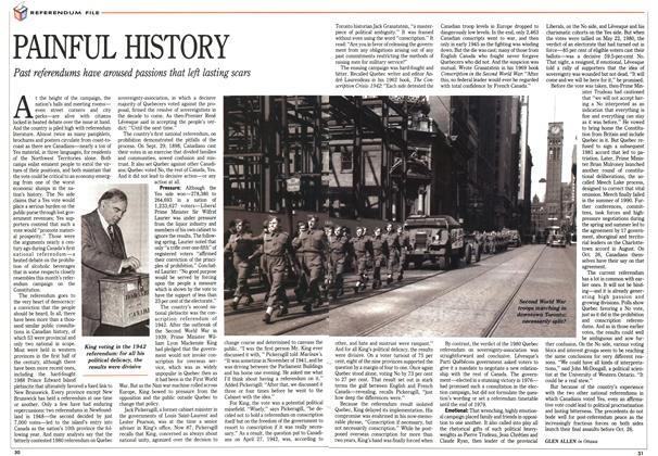 Article Preview: PAINFUL HISTORY, October 1992 | Maclean's