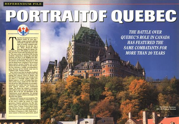 Article Preview: PORTRAIT OF QUEBEC, October 1992 | Maclean's