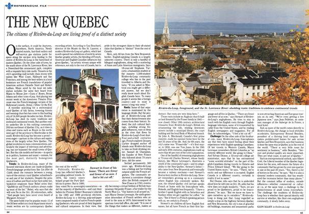 Article Preview: THE NEW QUEBEC, October 1992 | Maclean's