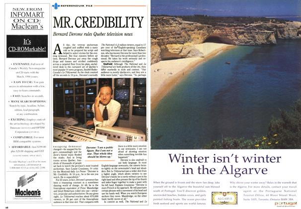 Article Preview: MR.CREDIBILITY, October 1992 | Maclean's