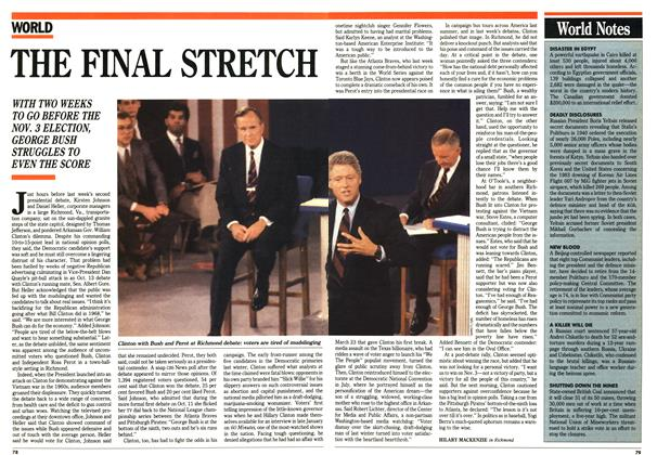 Article Preview: World Notes, October 1992 | Maclean's