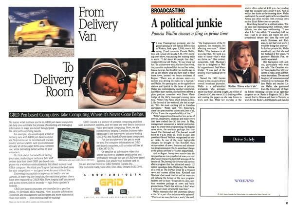 Article Preview: A political junkie, October 1992 | Maclean's