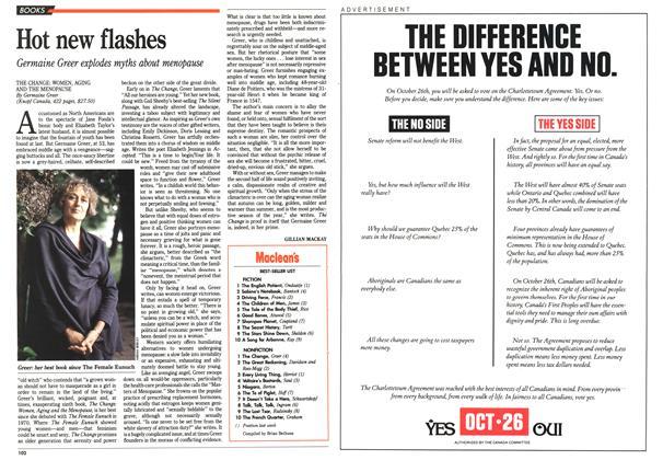 Article Preview: Maclean's BEST-SELLER LIST, October 1992   Maclean's