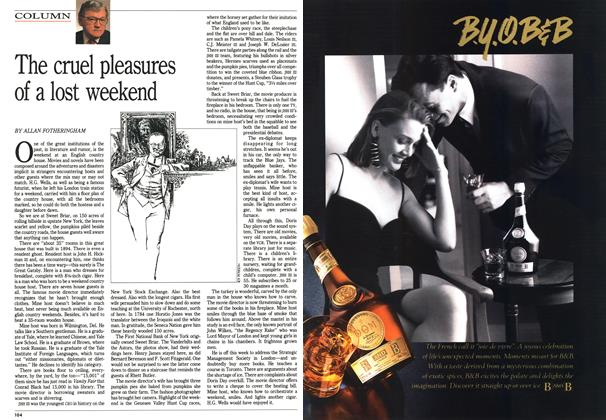 Article Preview: The cruel pleasures of a lost weekend, October 1992 | Maclean's