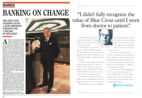 Article Preview: BANKING ON CHANGE, November 1992 | Maclean's