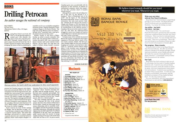 Article Preview: Drilling Petrocan, November 1992 | Maclean's
