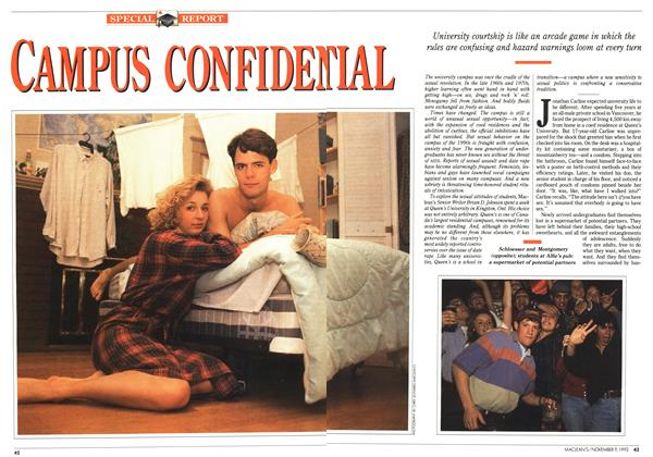 Article Preview: CAMPUS CONFIDETIAL, November 1992 | Maclean's