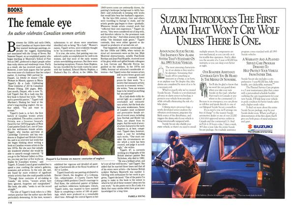 Article Preview: The female eye, November 1992 | Maclean's