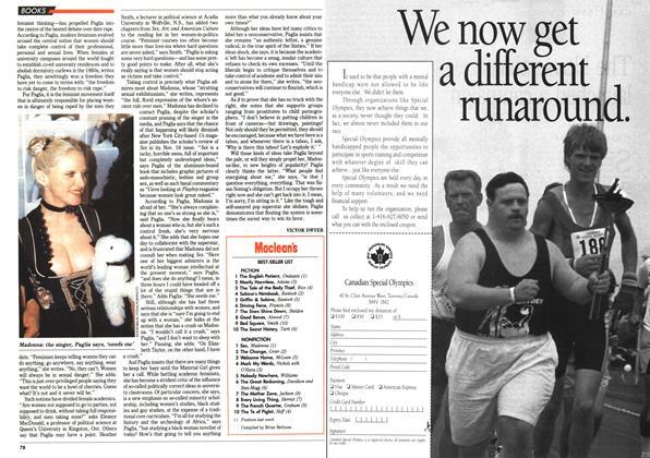 Article Preview: Maclean's BEST-SELLER LIST, November 1992 | Maclean's