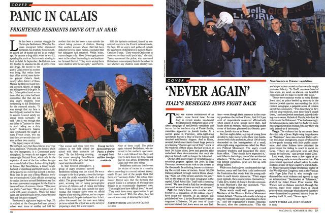 Article Preview: 'NEVER AGAIN', November 1992 | Maclean's