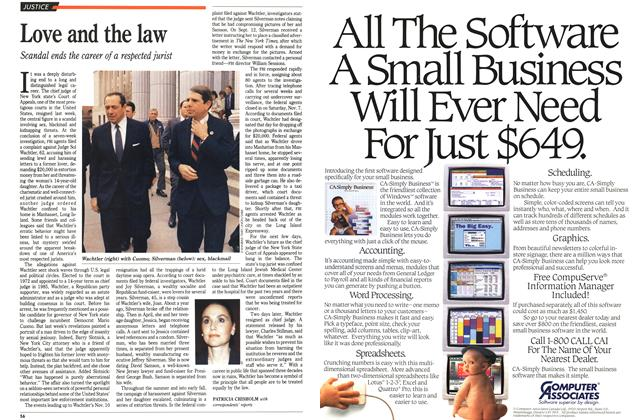 Article Preview: Love and the law, November 1992 | Maclean's