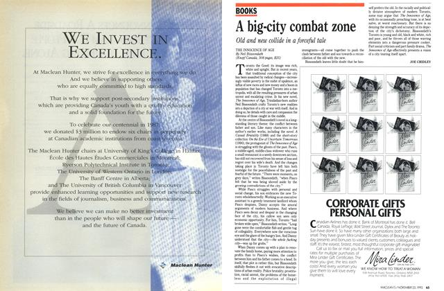 Article Preview: A big-city combat zone, November 1992 | Maclean's