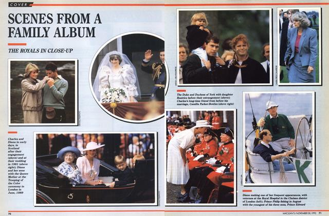 Article Preview: SCENES FROM A FAMILY ALBUM, November 1992 | Maclean's
