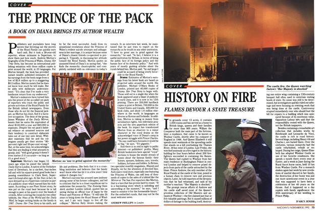 Article Preview: HISTORY ON FIRE, November 1992 | Maclean's