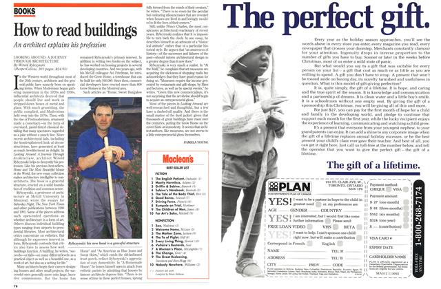 Article Preview: How to read buildings, November 1992 | Maclean's