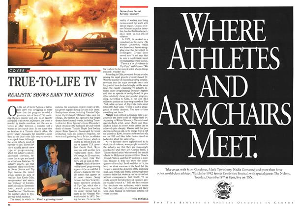 Article Preview: TRUE-TO-LIFE TV, December 1992 | Maclean's
