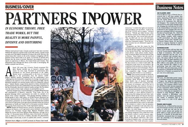 Article Preview: PARTNERS IN POWER, December 1992 | Maclean's