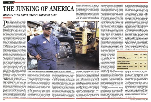 Article Preview: THE JUNKING OF AMERICA, December 1992 | Maclean's