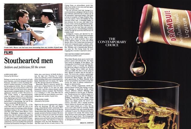 Article Preview: Stouthearted men, December 1992 | Maclean's