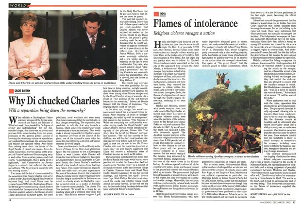 Article Preview: Why Di chucked Charles, December 1992 | Maclean's