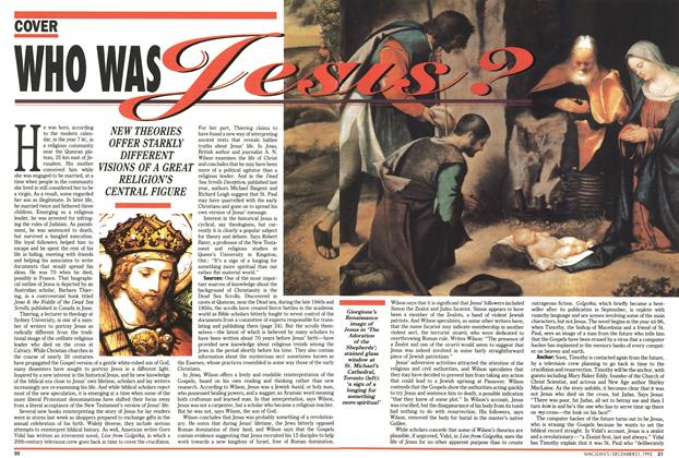Article Preview: Who was Jesus?, December 1992 | Maclean's