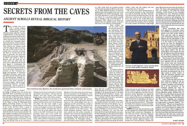 Article Preview: SECRETS FROM THE CAVES, December 1992 | Maclean's