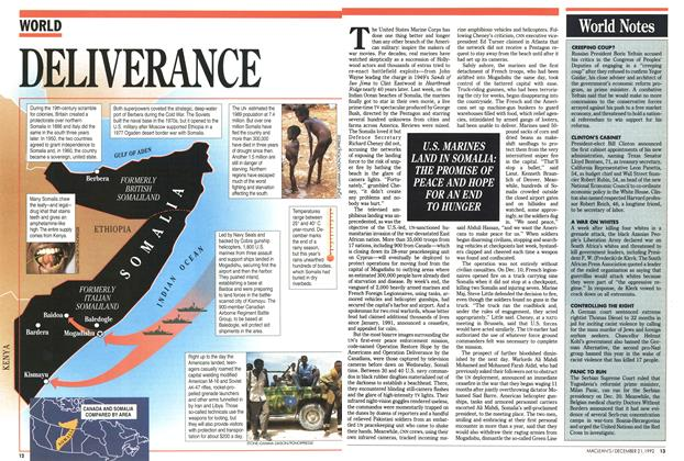 Article Preview: DELIVERANCE, December 1992 | Maclean's