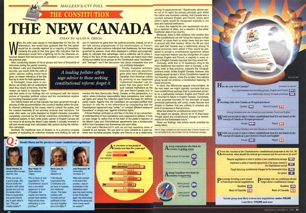 Article Preview: THE NEW CANADA, January 1993 | Maclean's