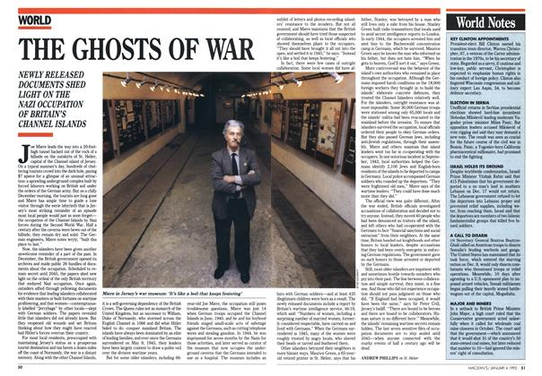 Article Preview: THE GHOSTS OF WAR, January 1993 | Maclean's