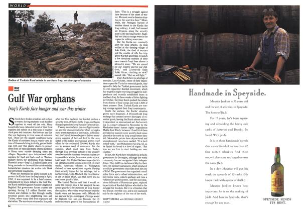 Article Preview: Gulf War orphans, January 1993 | Maclean's