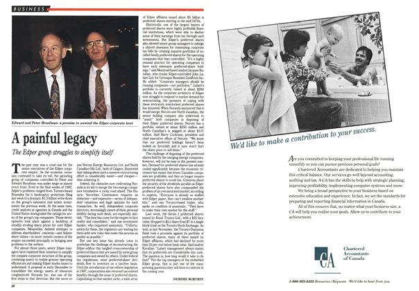 Article Preview: A painful legacy, January 1993 | Maclean's