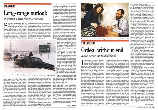 Article Preview: Long-range outlook, January 1993 | Maclean's