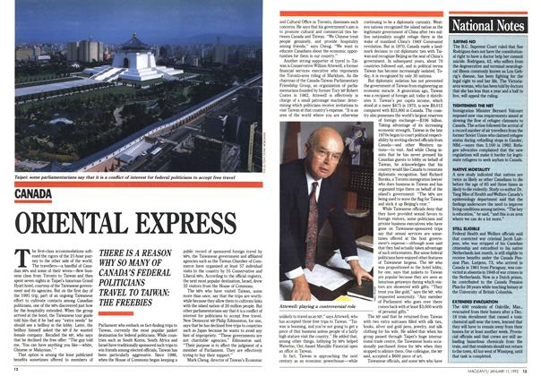 Article Preview: ORIENTAL EXPRESS, January 1993 | Maclean's