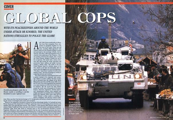 Article Preview: GLOBAL COPS, January 1993 | Maclean's