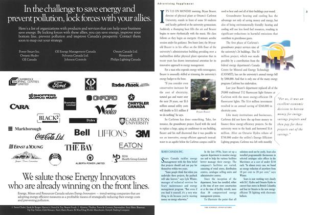 Article Preview: THE ENERGY INNOVATORS, January 1993 | Maclean's