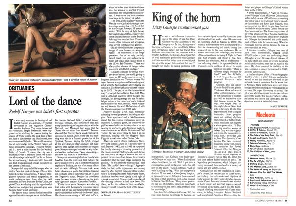 Article Preview: King of the horn, January 1993 | Maclean's