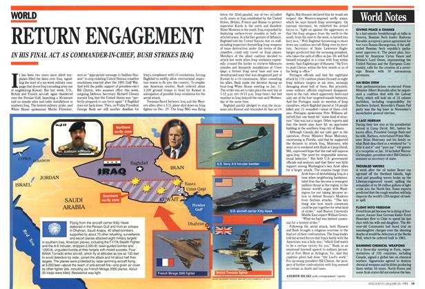 Article Preview: RETURN ENGAGEMENT, January 1993 | Maclean's