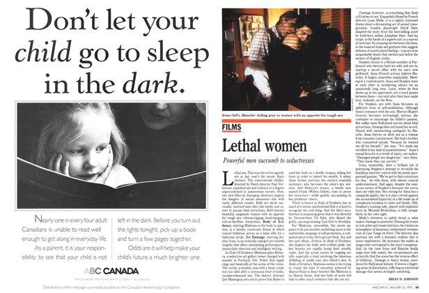 Article Preview: Lethal women, January 1993 | Maclean's