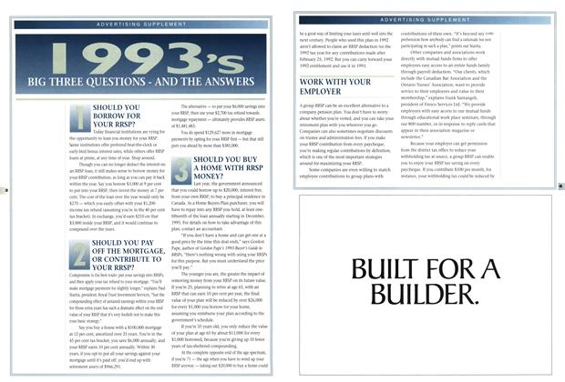 Article Preview: 1993'S BIG THREE QUESTIONS-AND THE ANSWERS, February 1993 | Maclean's