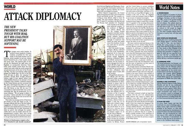 Article Preview: ATTACK DIPLOMACY, February 1993 | Maclean's